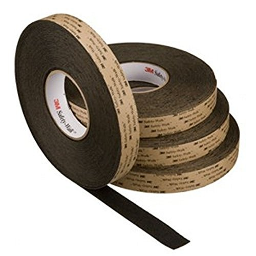 3 M rol sticker slipvast zwart 19 mm x 18,3 m