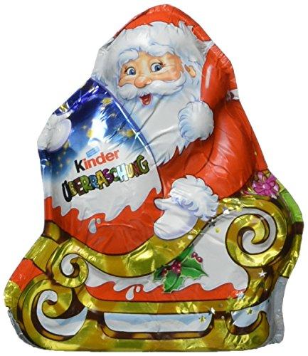 Ferrero Kinder Schokolade Weihnachtsmann mit Überraschung, 12er Pack (12 x 75 g)