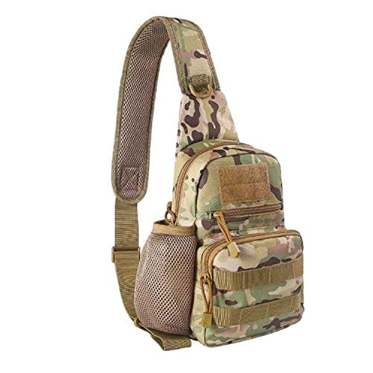 EDOBIL Tactical Bag, Messenger Bag Best Outdoor Sling Bag for Men and Women - Small One Military Bag for Trekking,Camping,Hiking,Cycling Rover Sling Daypack