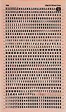 Lettres & Figures Transferts Noir 3mm - 1 feuille