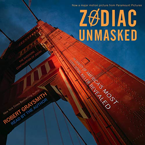 Zodiac Unmasked audiobook cover art