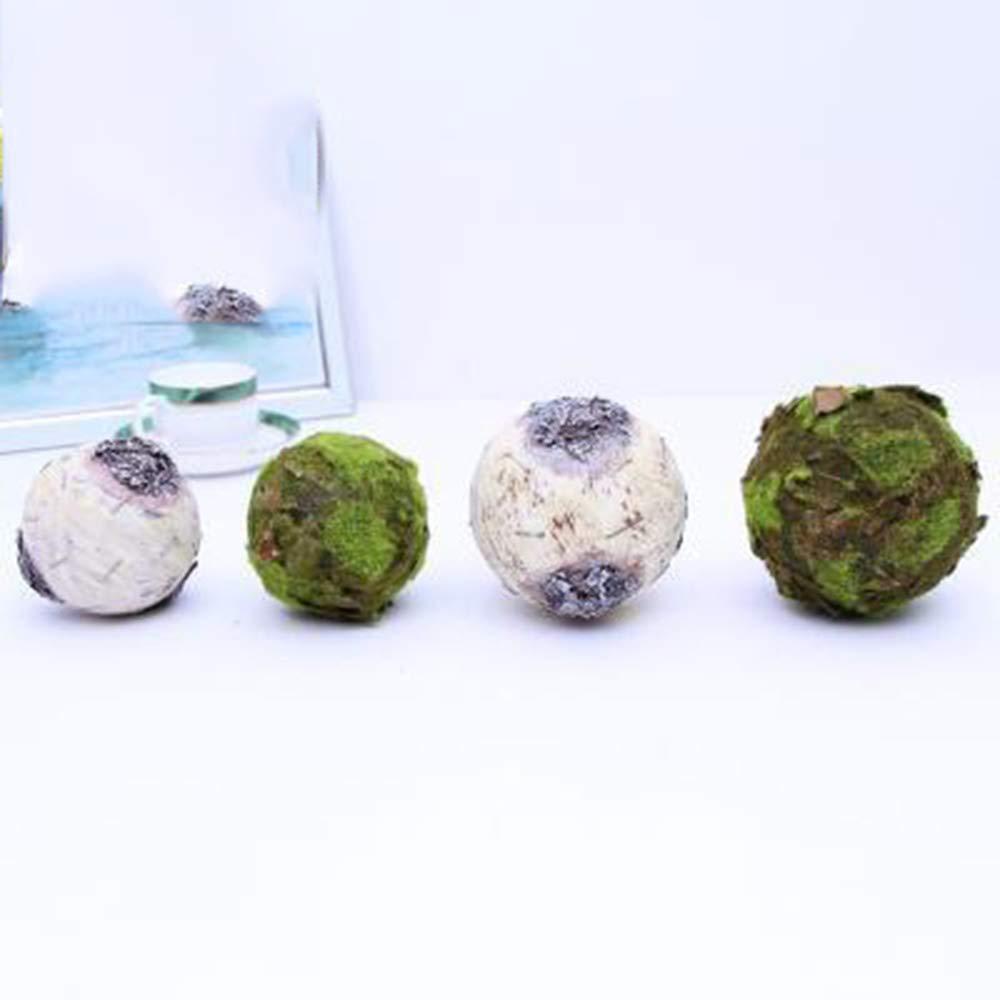 pi/èce ma/îtresse ext/érieure dint/érieur pour /épouser,30cm Boule Verte de topiaire darachide Wumudidi Boule d/écorative dusine Artificielle