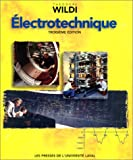 Electrotechnique - Pu Laval Presse Univers. - 01/01/2000