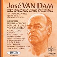 Jose Van Dam: The Great Italian Arias [Les Grands Airs Italiens]