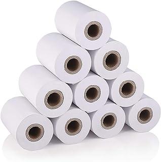 Calculadoras Impresoras genericas Rollo de papel T/érmico 57 x 60 x 12 mm 10 Unidades valido impresoras de 58mm TPV Cajas Registradoras