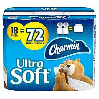 Charmin Ultra Soft Toilet Paper, 18 Mega Rolls Bathroom Tissue = 72 Regular Rolls (B0846L5L7D) | Amazon price tracker / tracking, Amazon price history charts, Amazon price watches, Amazon price drop alerts