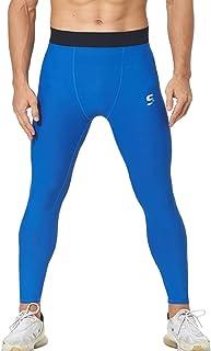 SS COLOR FISH Men Compression Pants Athletic Baselayer Workout Legging Running Tights for Men
