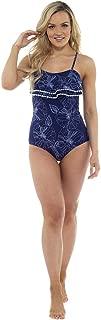 Tom Franks Womens/Ladies Poppy Print Ruffle Swimsuit