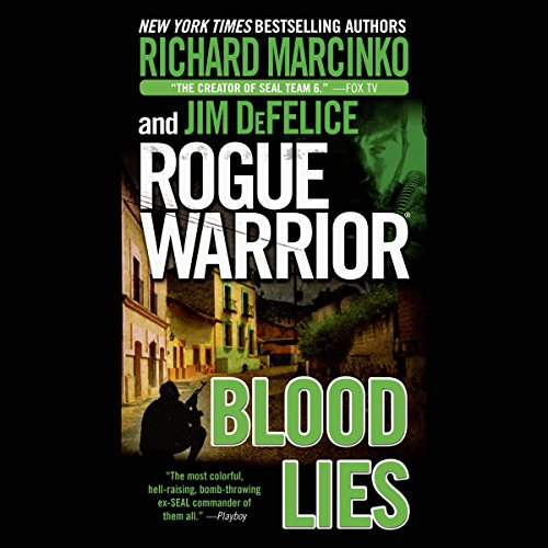 Rogue Warrior: Blood Lies audiobook cover art