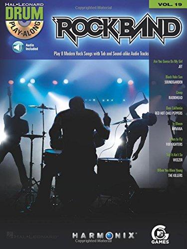 Drum Play-Along Volume 19: Rock Band: Play-Along, CD für Schlagzeug
