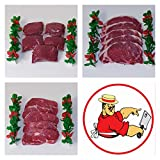 Great Value Bargain Ultimate Top Quality Meat Hamper Beef Steak Pack Fillet Rib-Eye and Sirloin