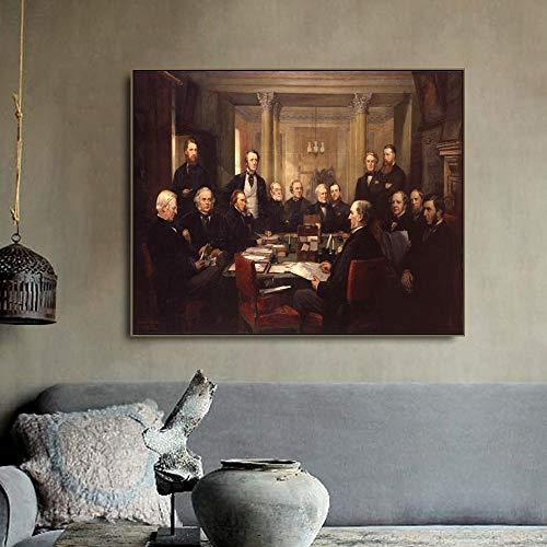 Leinwand Druck Plakat Wandbild Renaissance Art Kalligraphie Poster Und Print Deko Bilder Für...