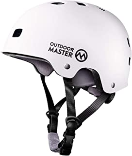 Best OutdoorMaster Skateboard Cycling Helmet - ASTM & CPSC Certified Two Removable Liners Ventilation Multi-Sport Scooter Roller Skate Inline Skating Rollerblading for Kids, Youth & Adults Review