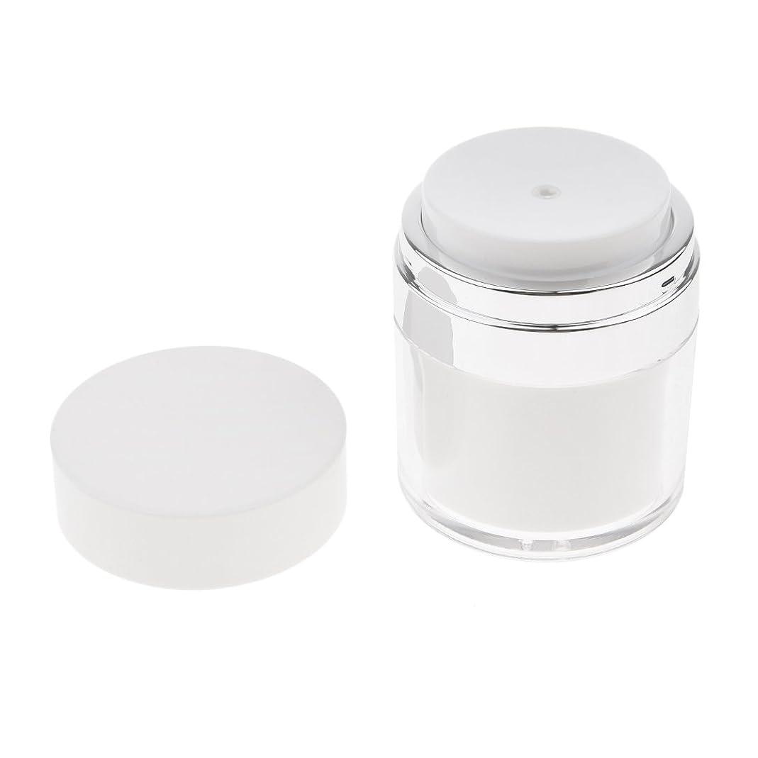 識別消費者コンパクトPerfeclan エンプティエアレスクリームケース 空ケース プレスボトル クリーム 容器 メイクアップジャー 化粧品