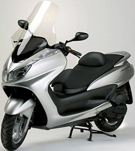 Fabbri Lastra Parabrezza Top Alto Trasparente per Yamaha-Majesty 400 dal 2004 Fino al 2008