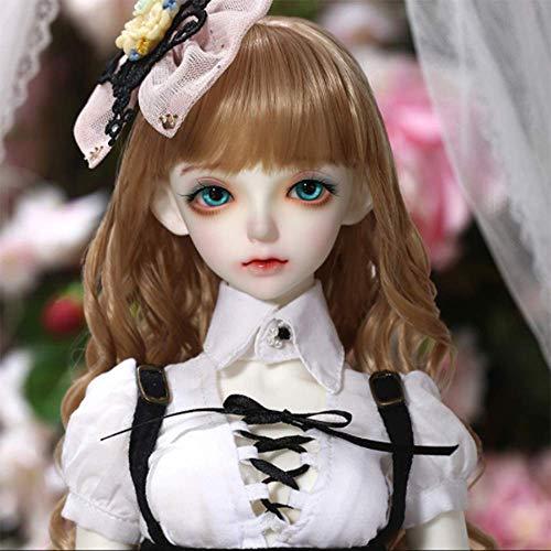 1/3 Delicado BJD Doll Feeple Carol 55CM/21.6 Inch Resina Avanzada Ball Joints SD Muñecas con Cambio de Ropa Zapatos Accesorios Pelucas Maquillaje DIY Juguetes