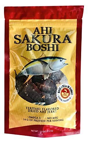 Hawaiian Ahi Sakura Boshi Teriyaki Flavored Fish Jerky