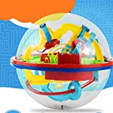 DF-FR 3D Puzzle Magic Maze Ball 299 Niveau Perplexus Magical Intellect Marble Puzzle Game IQ Balance Jouets Éducatifs pour Enfants (couleur: Multicolore)