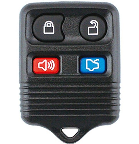 Keyless 4 Buttons Remote Key Shell Case For Ford Mustang Focus Lincoln LS Town Car Mercury Grand Marquis Sable No Chips