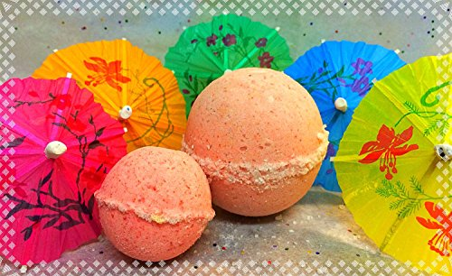 Strawberry Margarita Bath Bomb - vegan - cruelty free - all natural - bath bomb - gifts for her - stocking stuffers for teens - stocking stuffers