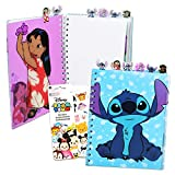 Lilo and Stitch School Supplies Bundle - Disney Lilo and Stitch Journal Notebook For Kids Adults Stitch School Stuff Set with Tsum Tsum Stickers (Lilo and Stitch Notebook)