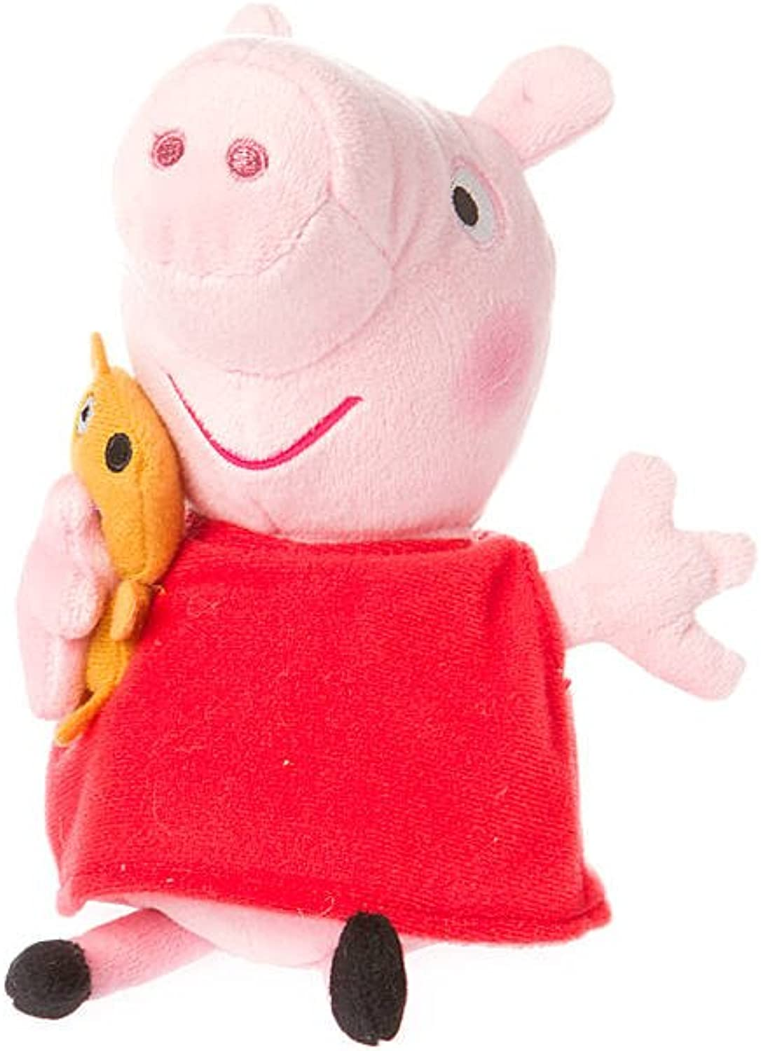 Claire's Accessories Ty Beanie Babies Peppa Pig Plush  8 1 2  Small