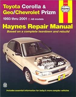 Toyota Corolla & Geo/Chevrolet Prizm 1993-2001 (Hayne's Automotive Repair Manual)