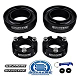 Supreme Suspensions - Full Lift Kit for 1996-2002 4Runner 3' Front Lift Strut Spacers + 2' Rear Lift Spring Spacers | 4WD Non-SR5 Heavy Duty Suspension Lift Kit (Black)