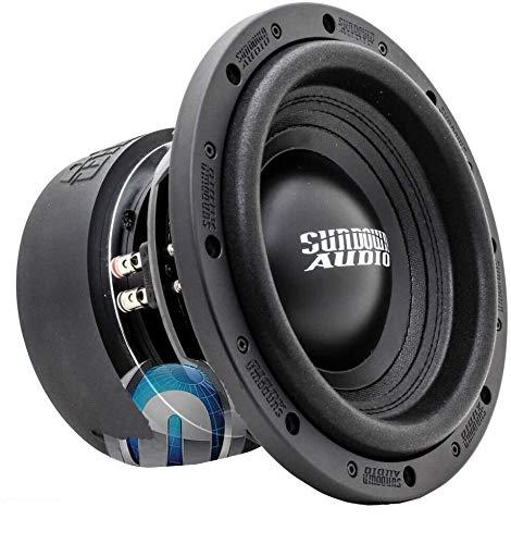 SUNDOWN AUDIO SA-12 V.2 D2 12' Dual 2 OHM 1000W RMS SUBWOOFER BASS Speaker New