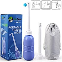 Newtion Portable Travel Bidet for Toilet with Storage Bag
