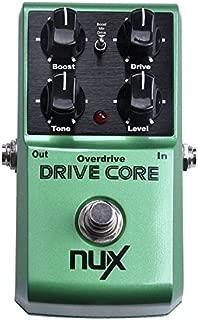jeerui Nux Drive Core Pedal de guitarra efecto eléctrico mezcla de Boost y Sonido Overdrive Derivación Cierto