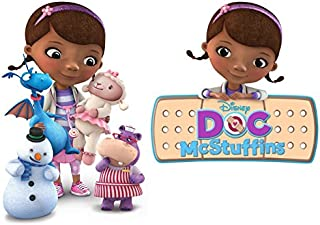 Doc McStuffins - 2 Iron On Heat Transfers - For Light-Colored Materials - 4.5