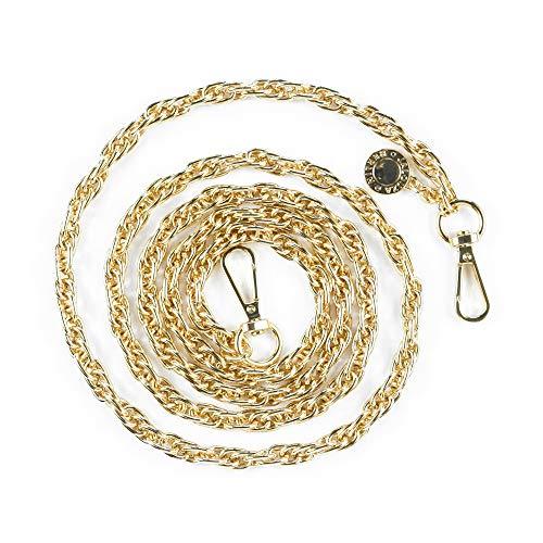 Jalouza - Vervangingsketting in kleur: goud - Smartphone Spiraalvormige ketting voor uitwisseling