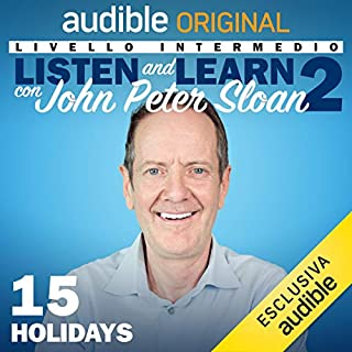 Holidays (Lesson 15) copertina