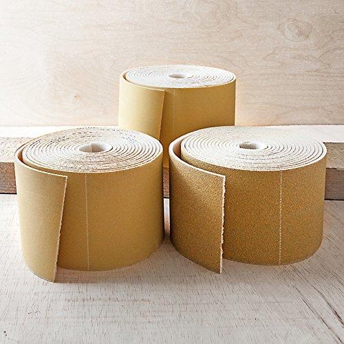 Schleifpapier auf 5m Rolle mit Schaumrücken - 500er Körnung