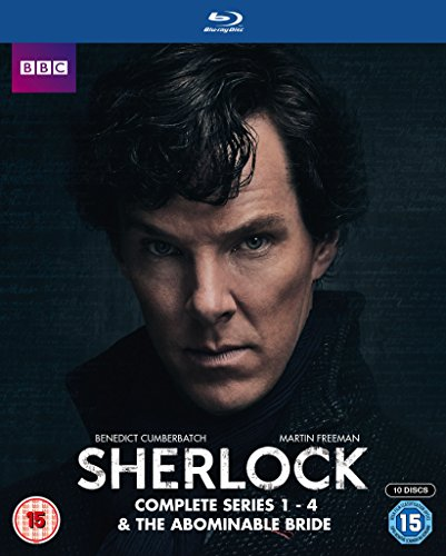 Sherlock - Series 1-4 & Abominable Bride Box Set [Reino Unido] [Blu-ray]