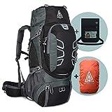Adventure 4 Life - Hochwertiger Trekkingrucksack 60L für Damen & Herren - robuster Wanderrucksack für Outdoor - Camping - Travel und Backpackers
