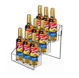 FixtureDisplays Wire Store Fixture Countertop Retail Display Rack Tiers Bottle Display Bag Stand 10030-NPF