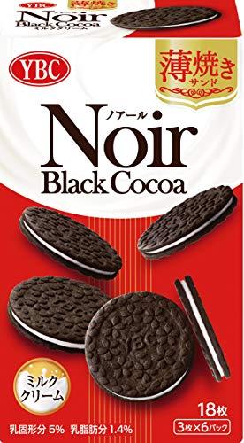 ヤマザキビスケット ノアール 薄焼きサンドミルククリーム×5箱