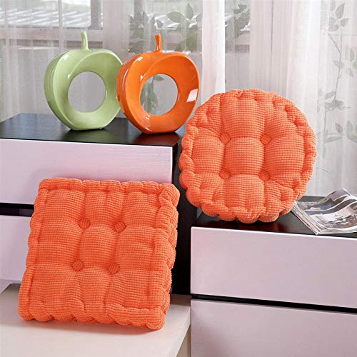 Comfort Hip Pain-Relief Seat Pad,Household Solid Color Corduroy Corn Kernel Cushion-C_40*40 Square