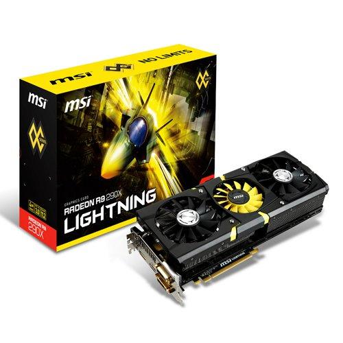 MSI Radeon R9 290X Lightning 4096MB GDDR5 512bit P