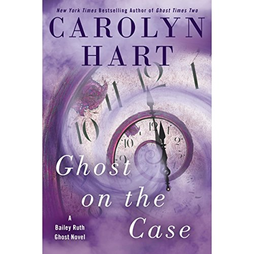 Ghost on the Case audiobook cover art