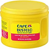 Café Bustelo Espresso Dark Roast Ground Coffee, 22 Ounces (Pack of 6)
