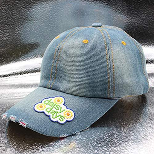 Baseballmütze Kappe Hut Cap Cowboy Baseballmütze Sanpback Hüte Für Mädchen Und Frauen Outdoor Sport Casual Denim Jeans Hip Hop