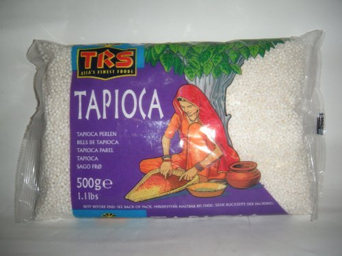 Indianstore24 Sago/Tapioka Perlen 500g
