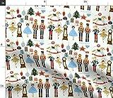 Sterne, Bäume, Weihnachten, Geschenke, Nussknacker,