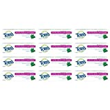 Tom's of Maine Natural Fluoride Free, Antiplaque Tartar Control & Whitening Toothpaste, Peppermint,...