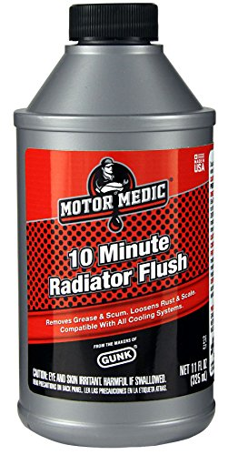 Gunk Motor Medic C1412 10-Minute Radiator Flush - 11 oz.
