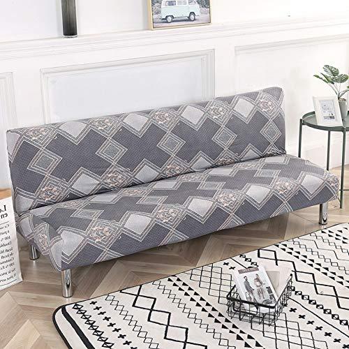 SSDLRSF Fundas sofá Fundas elásticas para sofá Cama de 150-185 cm sin apoyabrazos, Funda de sofá Ajustada, Fundas elásticas Flexibles, Toalla de sofá para Banquete