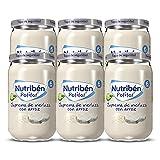 Nutribén Potitos Suprema De Merluza con Arroz, Desde los 6 Meses, Pack 6 x 235 gr